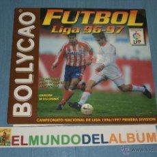 Coleccionismo deportivo: ALBUM INCOMPLETO DE FÚTBOL LIGA 96-97/1996-1997 DE BOLLYCAO. Lote 39310617