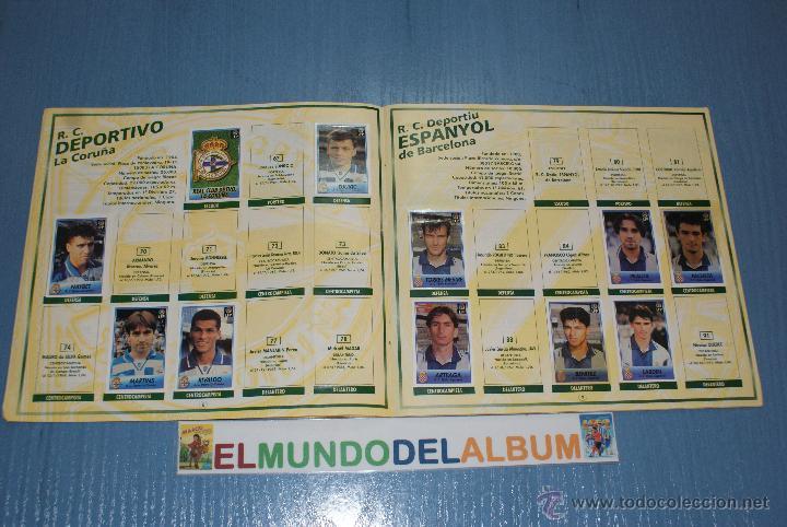 Coleccionismo deportivo: ALBUM INCOMPLETO DE FUTBOL LIGA 1996-1997/96-97 DE BOLLYCAO - Foto 2 - 39310121