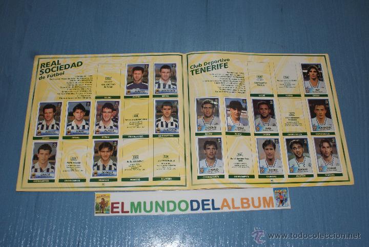Coleccionismo deportivo: ALBUM INCOMPLETO DE FUTBOL LIGA 1996-1997/96-97 DE BOLLYCAO - Foto 3 - 39310121