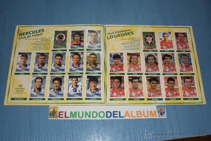 Coleccionismo deportivo: ALBUM INCOMPLETO DE FUTBOL,LIGA 1996-1997/96-97,DE BOLLYCAO - Foto 2 - 39310567