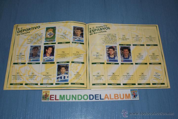 Coleccionismo deportivo: ALBUM INCOMPLETO DE FÚTBOL LIGA 96-97/1996-1997 DE BOLLYCAO - Foto 2 - 39310617
