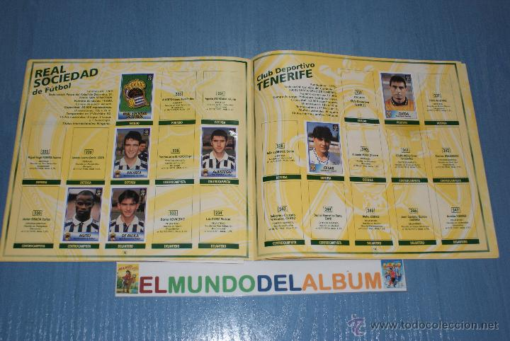 Coleccionismo deportivo: ALBUM INCOMPLETO DE FÚTBOL LIGA 96-97/1996-1997 DE BOLLYCAO - Foto 3 - 39310617