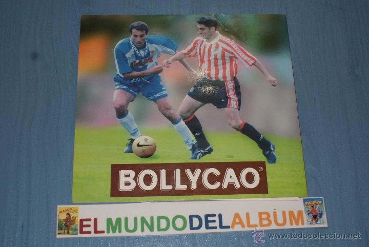Coleccionismo deportivo: ALBUM INCOMPLETO DE FÚTBOL LIGA 96-97/1996-1997 DE BOLLYCAO - Foto 4 - 39310617