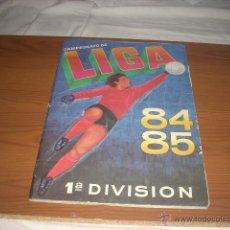 Coleccionismo deportivo: ALBUM DE LA LIGA 1984-85 DE CROMOS CANO CON TODOS LOS FICHAJES. Lote 39337828
