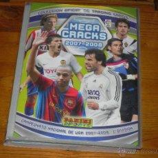 Coleccionismo deportivo: * ALBUM DE LA COLECCION OFICIAL DE TRADING CARDS MEGA CRACKS 2007-2008 CON 283 CROMOS *. Lote 39365992