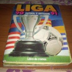Coleccionismo deportivo: ALBUM DE LA LIGA 1990-91 DE ESTE,ENVIO GRATIS. Lote 39574417