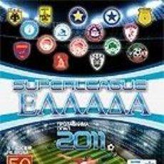 Coleccionismo deportivo: ALBUM VACIO - LIGA GRIEGA 2010 - 2011. Lote 39761828