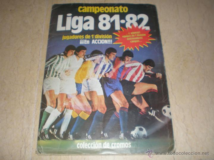 ÁLBUM ESTE 81/82 (Coleccionismo Deportivo - Álbumes y Cromos de Deportes - Álbumes de Fútbol Incompletos)