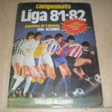 Coleccionismo deportivo: ÁLBUM ESTE 81/82. Lote 39771811