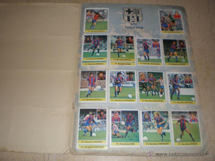 Coleccionismo deportivo: ÁLBUM ESTE 81/82 - Foto 2 - 39771811