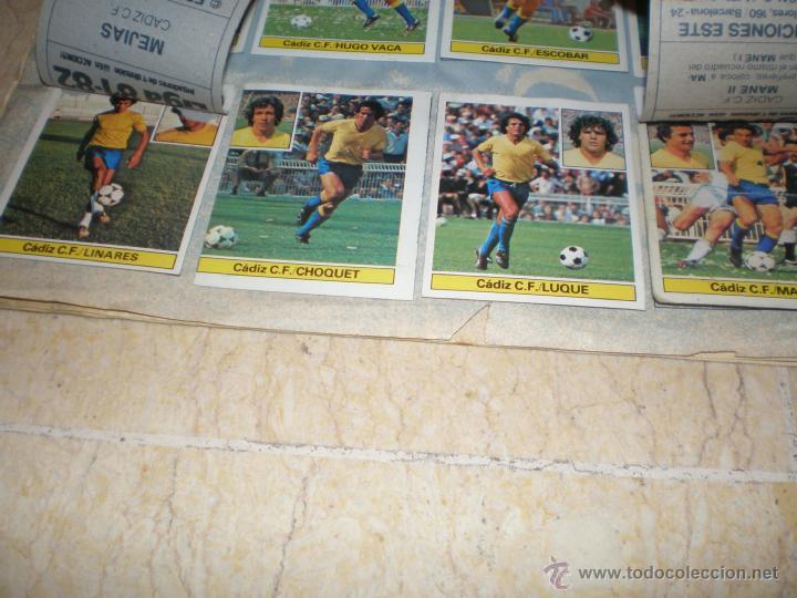 Coleccionismo deportivo: ÁLBUM ESTE 81/82 - Foto 5 - 39771811