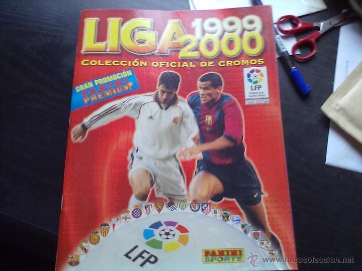 ALBUM PANINI LIGA 1999 2000 CASI PLANCHA (Coleccionismo Deportivo - Álbumes y Cromos de Deportes - Álbumes de Fútbol Incompletos)