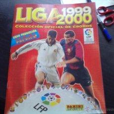 Coleccionismo deportivo: ALBUM PANINI LIGA 1999 2000 CASI PLANCHA. Lote 39804645