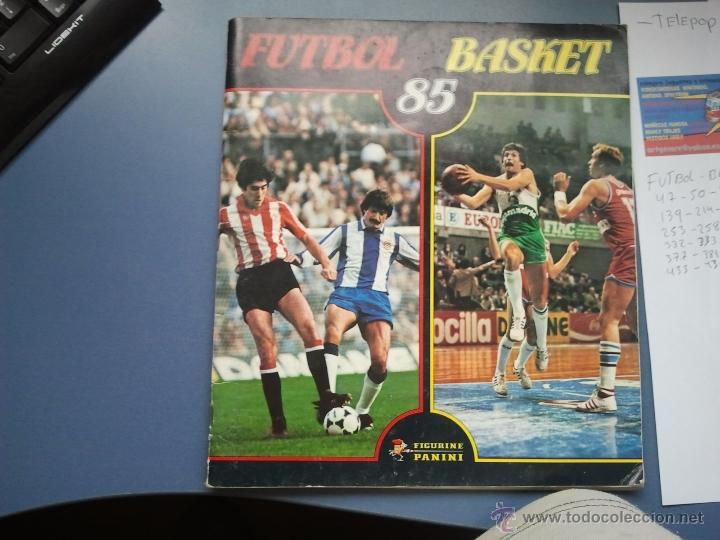 ALBUM DE CROMOS FUTBOL BASKET (Coleccionismo Deportivo - Álbumes y Cromos de Deportes - Álbumes de Fútbol Incompletos)