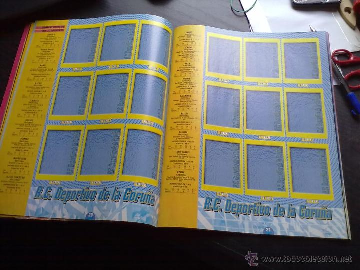 Coleccionismo deportivo: ALBUM PANINI LIGA 1999 2000 CASI PLANCHA - Foto 3 - 39804645