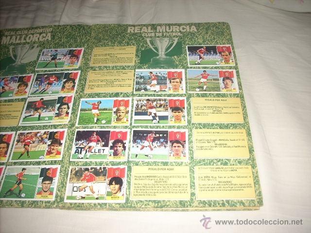 Coleccionismo deportivo: ALBUM DE LA LIGA 1986-87 DE ESTE ,OJO ULTIMA EDICION ACTUALIZADA - Foto 2 - 39886517