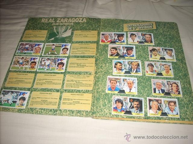 Coleccionismo deportivo: ALBUM DE LA LIGA 1986-87 DE ESTE ,OJO ULTIMA EDICION ACTUALIZADA - Foto 4 - 39886517