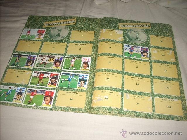 Coleccionismo deportivo: ALBUM DE LA LIGA 1986-87 DE ESTE ,OJO ULTIMA EDICION ACTUALIZADA - Foto 5 - 39886517