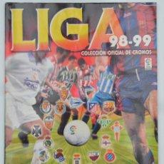 Coleccionismo deportivo: ALBUM CROMOS LIGA 98-99 PRIMERA DIVISIÓN. PANINI SPORTS.. Lote 34550833