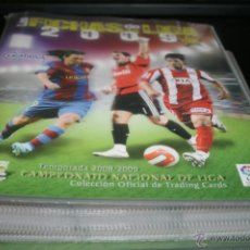Colecionismo desportivo: LAS FICHAS DE LA LIGA 2009 (ED. MUNDICROMO) 503 FICHAS DIFERENTES. Lote 40055076
