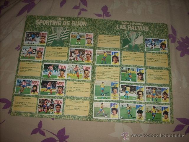 Coleccionismo deportivo: ALBUM DE LA LIGA 1986-87 DE ESTE ,OJO ULTIMA EDICION ACTUALIZADA - Foto 10 - 39886517