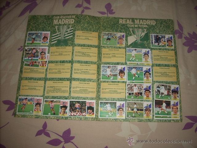 Coleccionismo deportivo: ALBUM DE LA LIGA 1986-87 DE ESTE ,OJO ULTIMA EDICION ACTUALIZADA - Foto 11 - 39886517