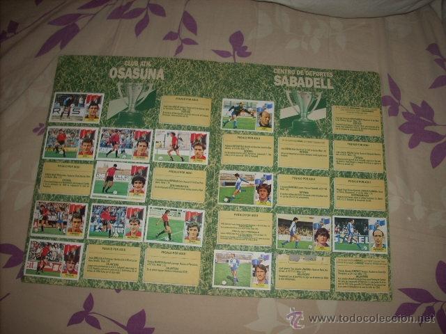 Coleccionismo deportivo: ALBUM DE LA LIGA 1986-87 DE ESTE ,OJO ULTIMA EDICION ACTUALIZADA - Foto 13 - 39886517