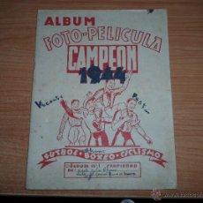 Coleccionismo deportivo: FUTBOL- ALBUM Nº 1 CAMPEON 1944 - INCOMPLETO -. Lote 40094843