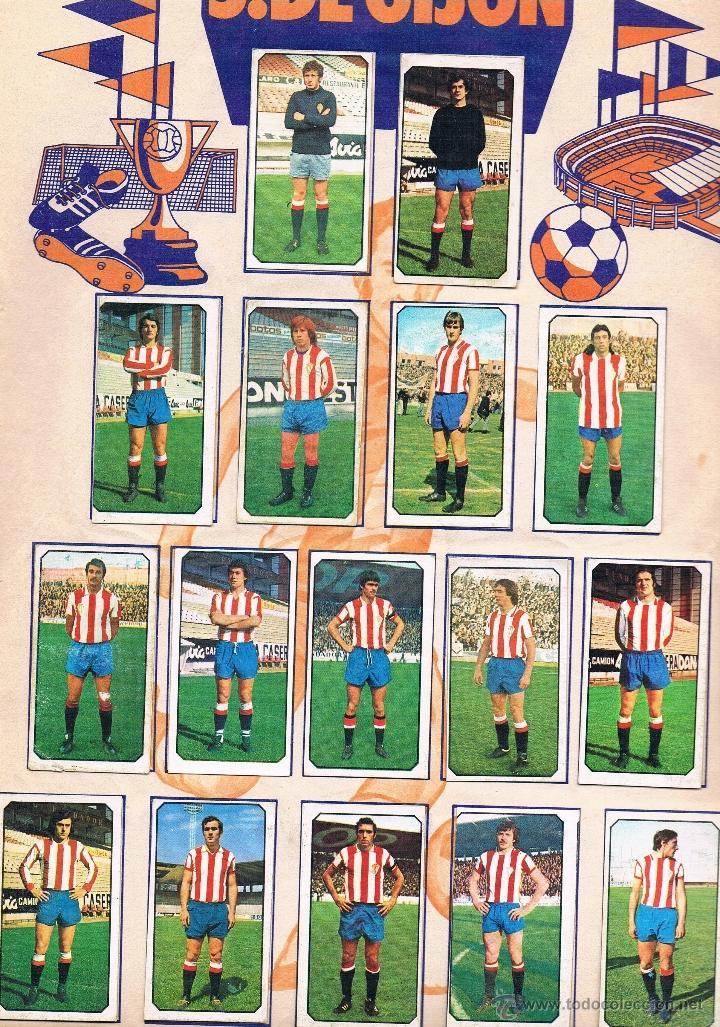Coleccionismo deportivo: ALBUM CROMOS FUTBOL LIGA 77-78 EDICIONES ESTE COMPLETO TODOS LOS EQUIPOS. ALGUNOS ULTIMOS FICHAJES. - Foto 3 - 40149346