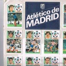 Coleccionismo deportivo: ALBUM CROMOS LIGA 83 84 EDICIONES ESTE COMPLETO EXCEPTO FICHAJES 33 Y 41. Lote 40293278