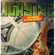 Coleccionismo deportivo: ALBUM LIGA 91 - 92. FUTBOL 1ª DIVISION. LIBRO DE CROMOS ESTE.. Lote 40413264