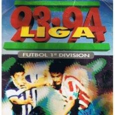 Coleccionismo deportivo: ALBUM LIGA 93-94. FUTBOL 1ª DIVISION. LIBRO DE CROMOS ESTE.. Lote 40413989