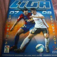 Coleccionismo deportivo: ALBUM LIGA 2007-8. Lote 40461351