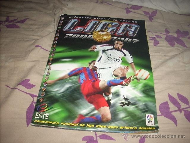 ALBUM DE LA LIGA 2006-07 DE ESTE CON CASI TODA LA COLECCION (Coleccionismo Deportivo - Álbumes y Cromos de Deportes - Álbumes de Fútbol Incompletos)