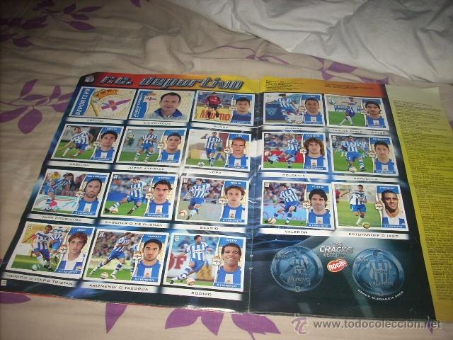 Coleccionismo deportivo: ALBUM DE LA LIGA 2006-07 DE ESTE CON CASI TODA LA COLECCION - Foto 2 - 40482376