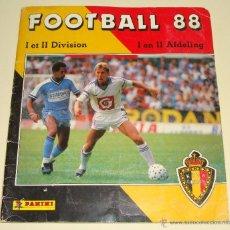 Coleccionismo deportivo: ÁLBUM DE CROMOS DE BÉLGICA. LIGA BELGA 1987 1988. 87 88. PANINI. FOOTBALL 88. MUY COMPLETO. Lote 51399735