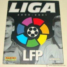 Coleccionismo deportivo: ÁLBUM DE CROMOS DE FÚTBOL. LIGA 00 01. 2000 2001. EDICIONES PANINI. CONTIENE 185 CROMOS. Lote 40547999