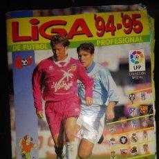 Coleccionismo deportivo: ALBUM LIGA 94 95 PANINI 339 CROMOS DE 396 LEER DESCRIPCION. Lote 40652533