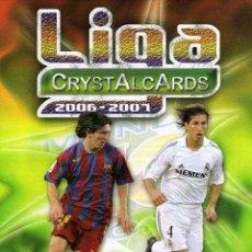 Coleccionismo deportivo: ALBUM NUEVO PRECINTADO CRYSTALCARDS 2006 - 2007 06 - 07. Lote 180523137