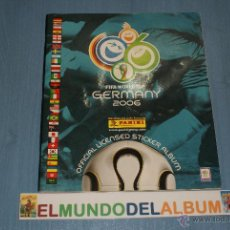 Coleccionismo deportivo: ALBUM INCOMPLETO DE FÚTBOL MUNDIAL ALEMANIA 2006 DE PANINI. Lote 135463079
