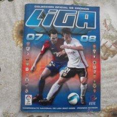 Coleccionismo deportivo: ALBUM DE CROMOS DE FÚTBOL EDICIONES ESTE 2007-08.. Lote 40880865