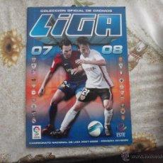 Coleccionismo deportivo: ALBUM DE CROMOS DE FÚTBOL EDICIONES ESTE 2007-08.. Lote 40880990