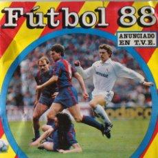 Coleccionismo deportivo: ÁLBUM DE CROMOS DE FÚTBOL 88. LIGA 87 88 1987 1988. EDICIONES ESTE. CON 401. MUY COMPLETO. Lote 51399742