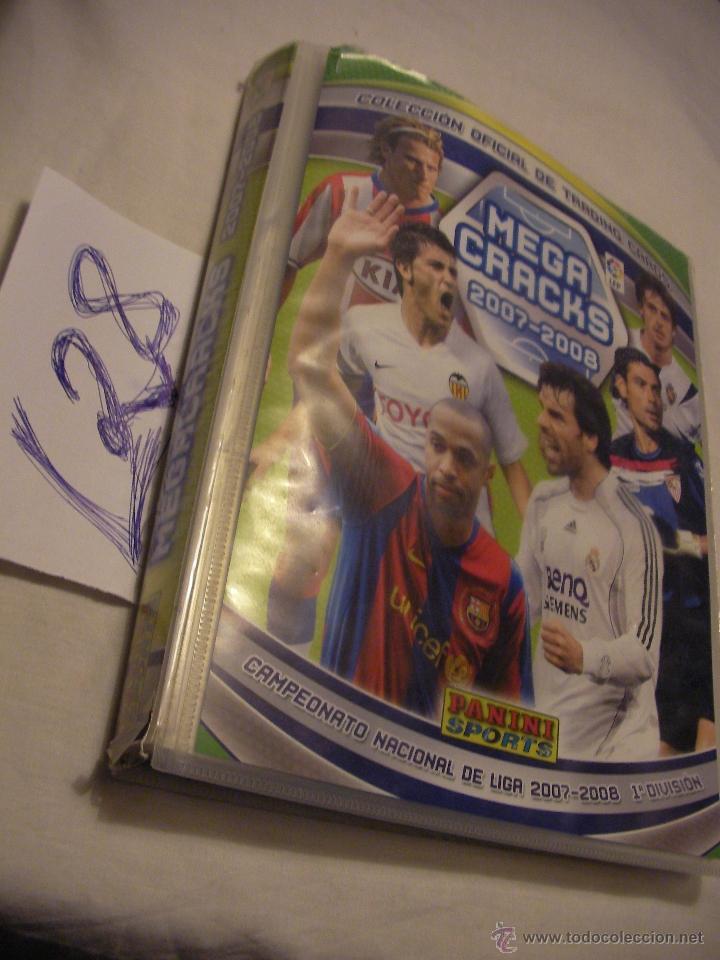 ALBUM PANINI MEGA CRACK 2007-2008 (Coleccionismo Deportivo - Álbumes y Cromos de Deportes - Álbumes de Fútbol Incompletos)