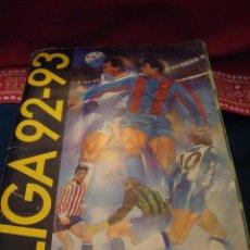Coleccionismo deportivo: ALBUM VACIO 92-93 ESTE. NO EXACTAMENTE PLANCHA PERO BASTANTE LIMPIO. LEER.. Lote 41102601