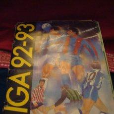 Coleccionismo deportivo: ALBUM 92-93 ESTE. BASTANTE COMPLETO CON MUCHOS CROMOS. LEER.. Lote 179116000