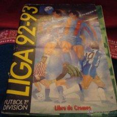 Coleccionismo deportivo: ALBUM 92-93 ESTE. CON MUCHOS CROMOS Y BASTANTE COMPLETO. LEER.. Lote 41103719