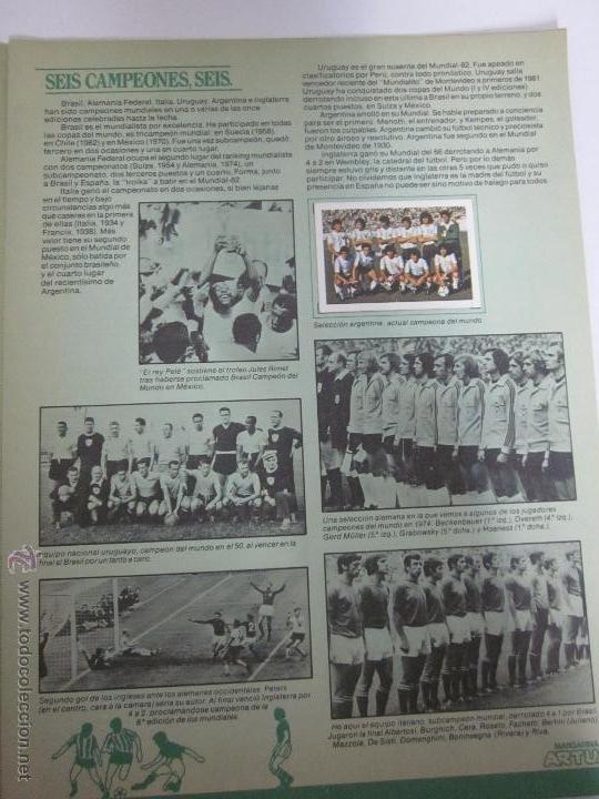 Coleccionismo deportivo: EL MUNDIAL DE ESPAÑA - ALBUM INCOMPLETO FALTAN 4 CROMOS - PUBLICIDAD MARGARINA ARTUA- (ALB-71) - Foto 2 - 41514393