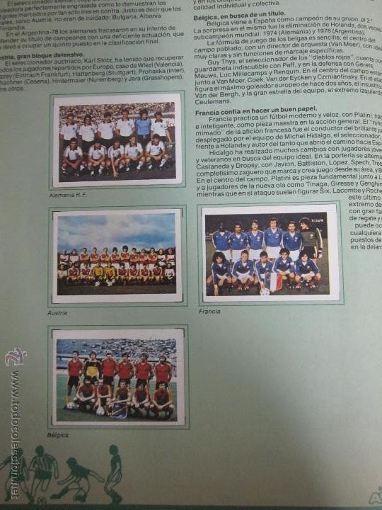 Coleccionismo deportivo: EL MUNDIAL DE ESPAÑA - ALBUM INCOMPLETO FALTAN 4 CROMOS - PUBLICIDAD MARGARINA ARTUA- (ALB-71) - Foto 3 - 41514393