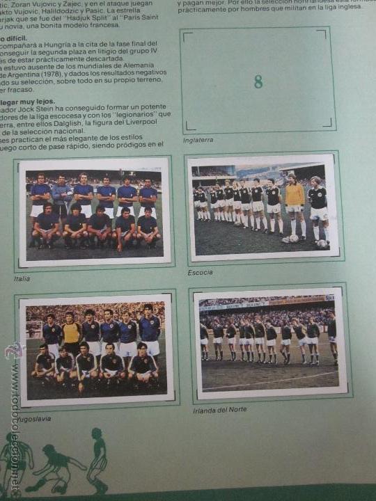 Coleccionismo deportivo: EL MUNDIAL DE ESPAÑA - ALBUM INCOMPLETO FALTAN 4 CROMOS - PUBLICIDAD MARGARINA ARTUA- (ALB-71) - Foto 4 - 41514393